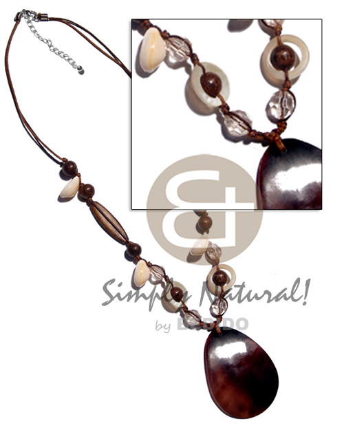 Philippines Wholesale Shell Necklace Puka Jewelry